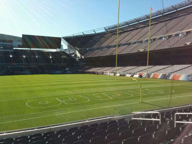 Seating view for Soldier Field Section 153 Row 10 Seat 8