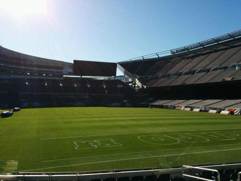 Seating view for Soldier Field Section 154 Row 10 Seat 7
