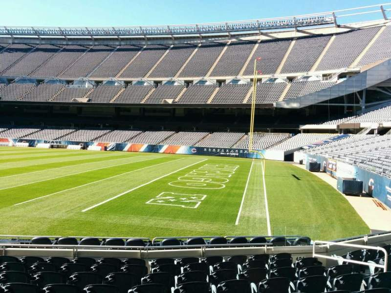 Seating view for Soldier Field Section 103 Row 10 Seat 8