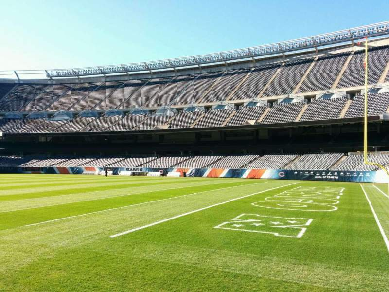 Seating view for Soldier Field Section 103 Row sidelime Seat 6