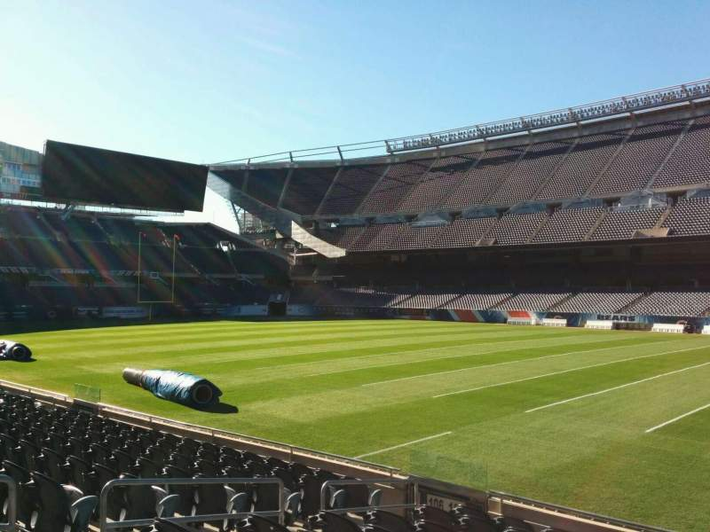 Seating view for Soldier Field Section 105 Row 10 Seat 8