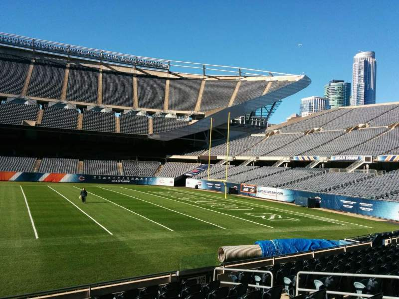 Seating view for Soldier Field Section 106 Row 10 Seat 8