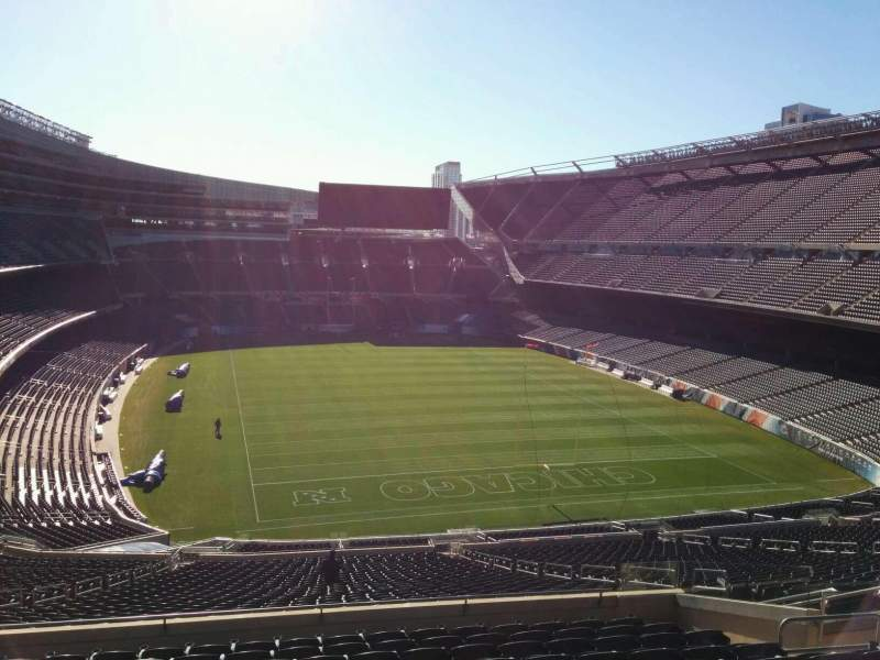 Seating view for Soldier Field Section 354 Row 12 Seat 15
