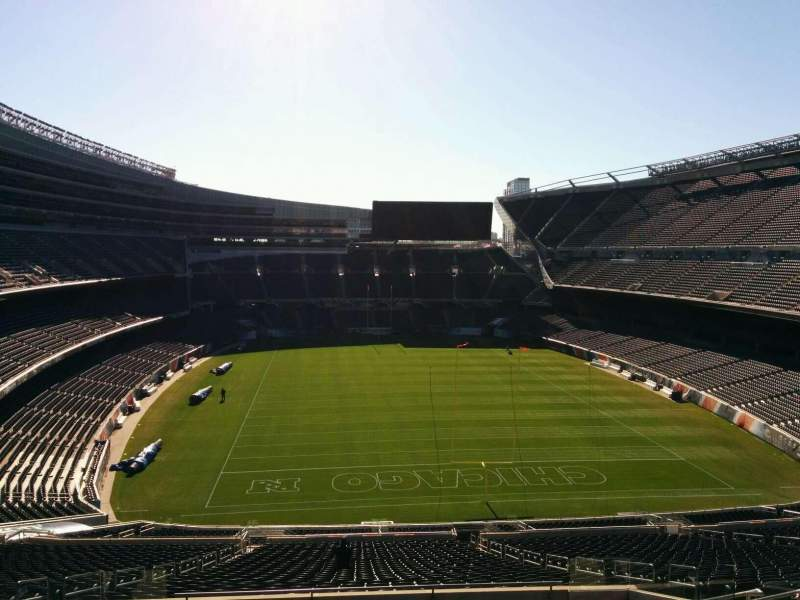 Seating view for Soldier Field Section 353 Row 12 Seat 11