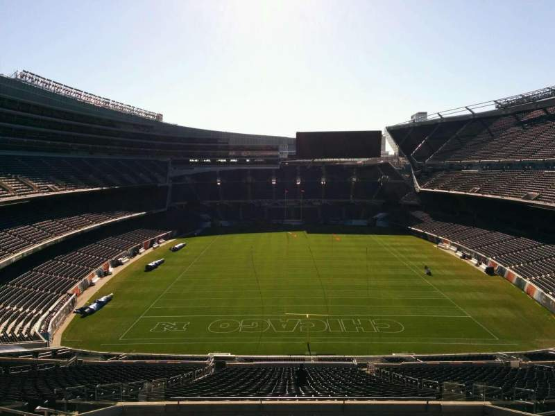 Seating view for Soldier Field Section 352 Row 12 Seat 11