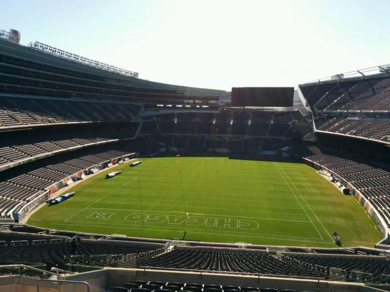 Seating view for Soldier Field Section 351 Row 12 Seat 11