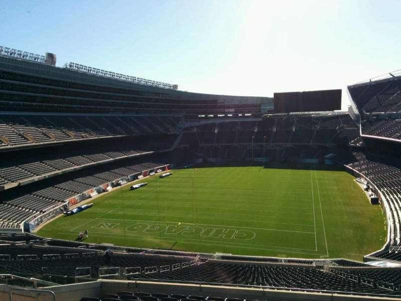 Seating view for Soldier Field Section 350 Row 12 Seat 15