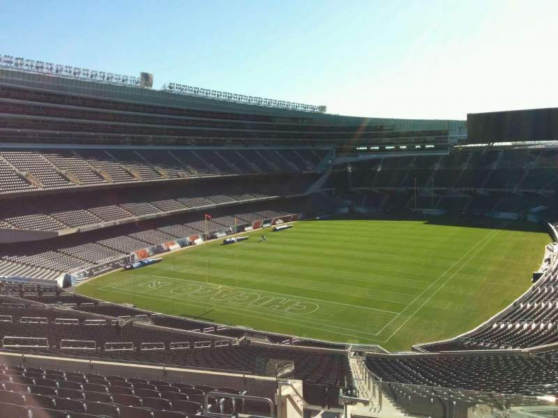 Seating view for Soldier Field Section 348 Row 12 Seat 2