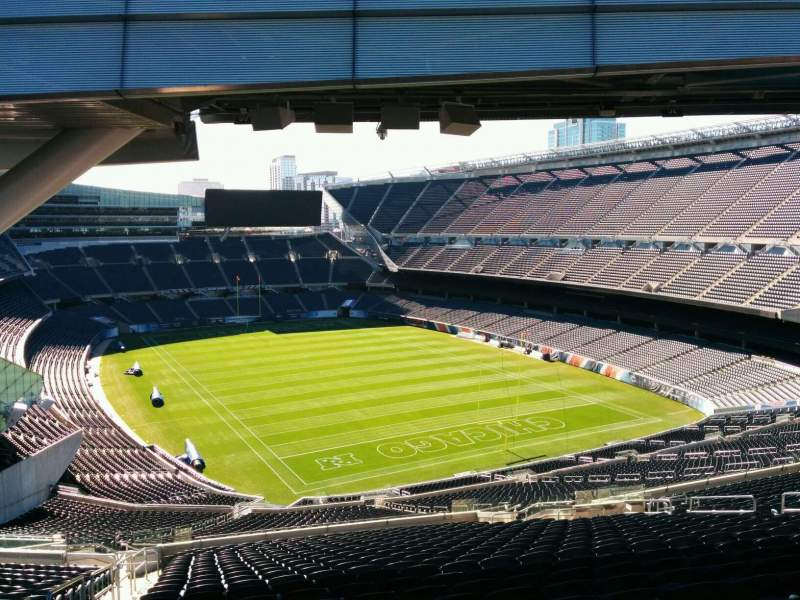 Seating view for Soldier Field Section Kapow Terrace