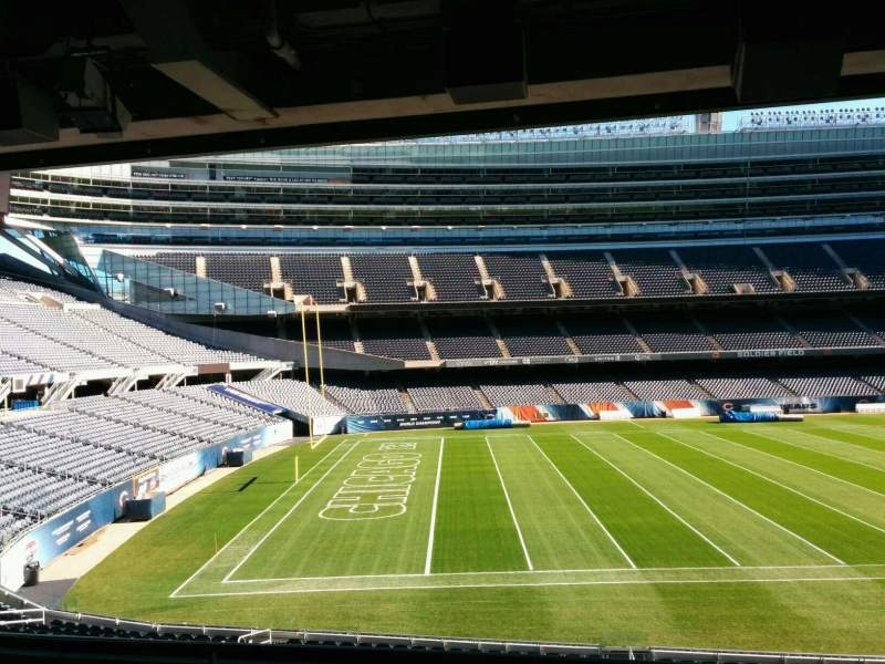 Seating view for Soldier Field Section 242 Row 6 Seat 9