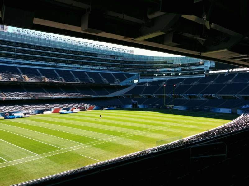 Seating view for Soldier Field Section 242 Row 6 Seat 6