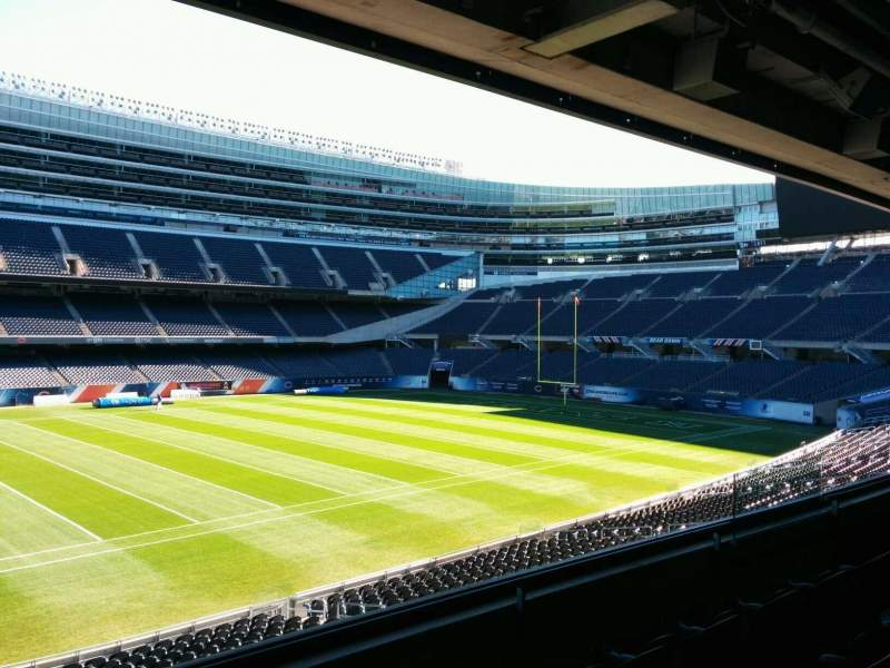 Seating view for Soldier Field Section 240 Row 4 Seat 9