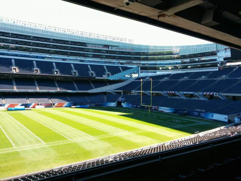 Seating view for Soldier Field Section 237 Row 4 Seat 12