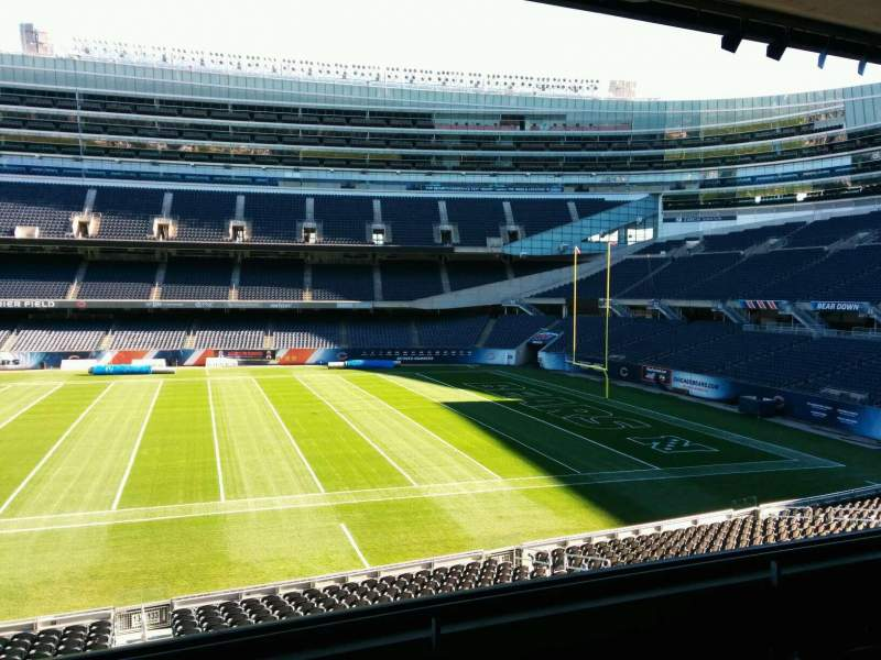 Seating view for Soldier Field Section 234 Row 4 Seat 9