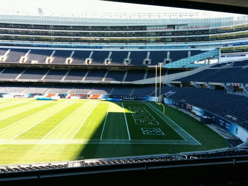 Seating view for Soldier Field Section 232 Row 5 Seat 9