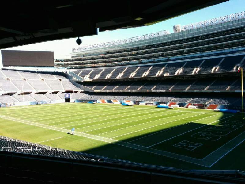 Seating view for Soldier Field Section 230 Row 6 Seat 12