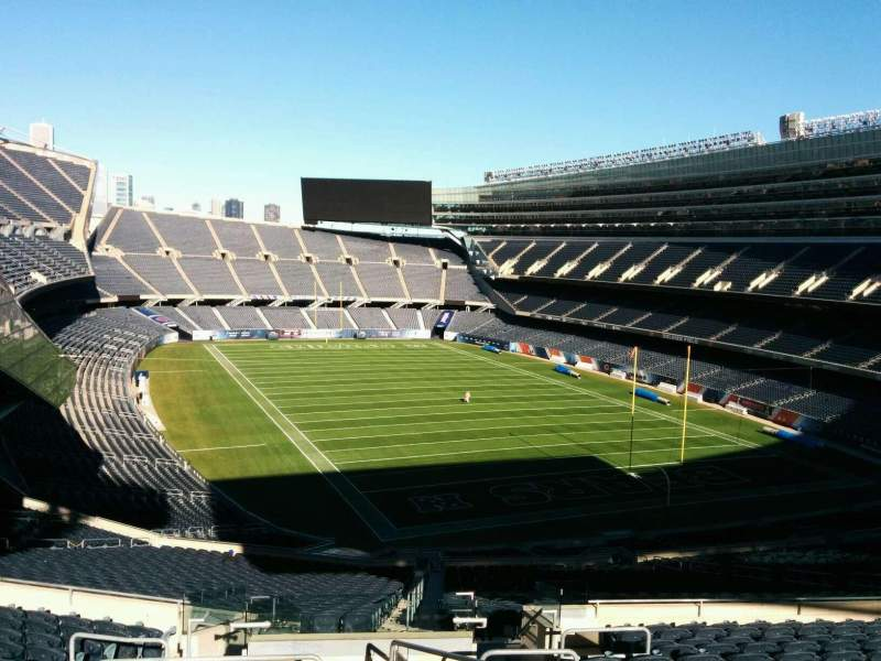 Seating view for Soldier Field Section 326 Row 14 Seat 8