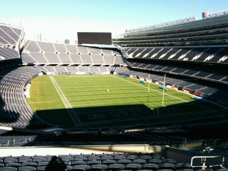 Seating view for Soldier Field Section 325 Row 11 Seat 12