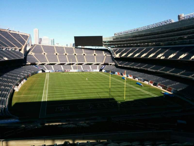 Seating view for Soldier Field Section 324 Row 10 Seat 13