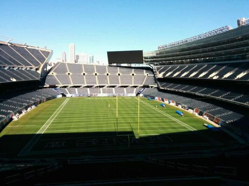 Seating view for Soldier Field Section 323 Row 9 Seat 10