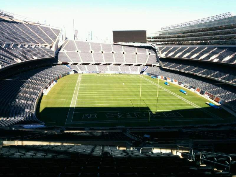 Seating view for Soldier Field Section 424 Row 2 Seat 12