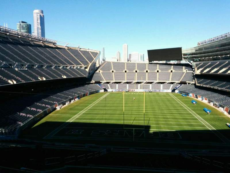 Soldier Field, section: 322, row: 10, seat: 10