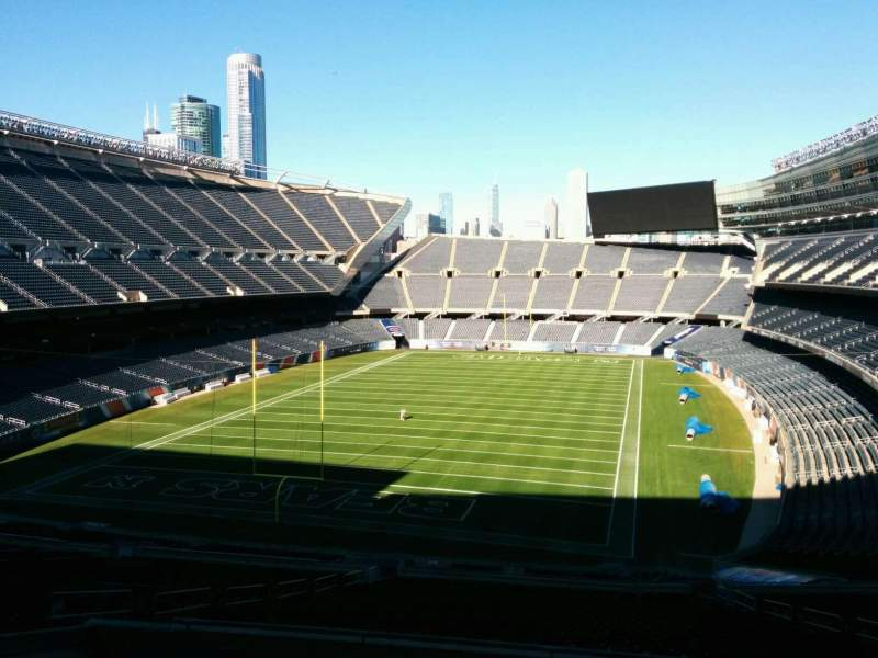 Seating view for Soldier Field Section 320 Row 9 Seat 14