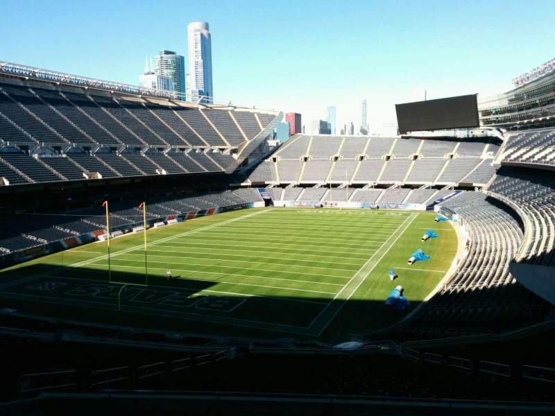 Seating view for Soldier Field Section 319 Row 9 Seat 12