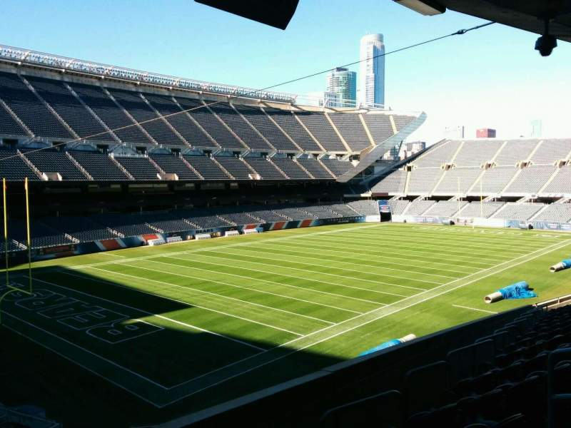 Seating view for Soldier Field Section 216 Row 14 Seat 21