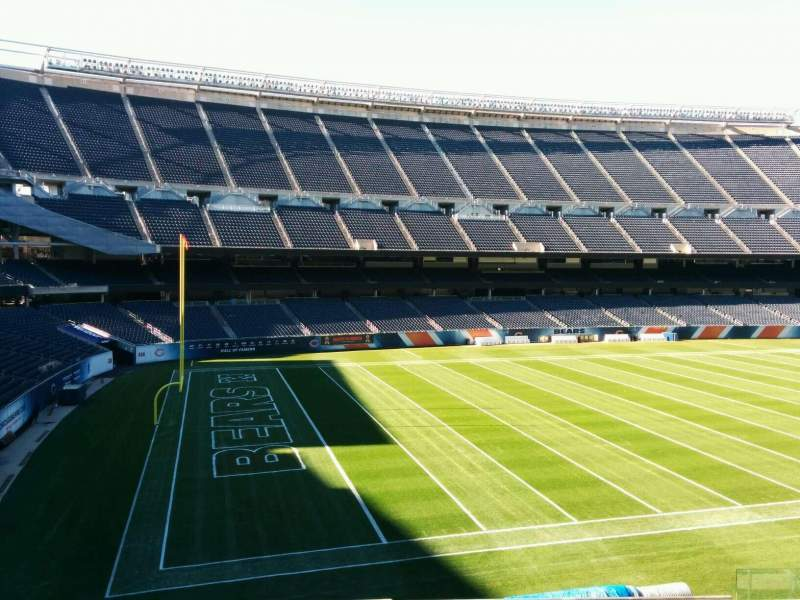Seating view for Soldier Field Section 214 Row 10 Seat 9