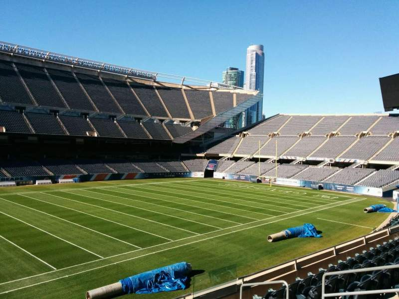 Seating view for Soldier Field Section 212 Row 7 Seat 9