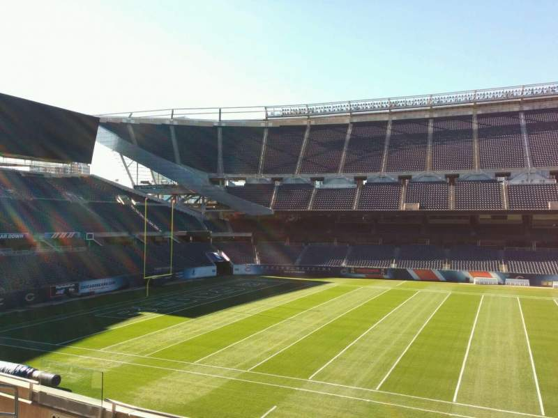 Seating view for Soldier Field Section 210 Row 6 Seat 10