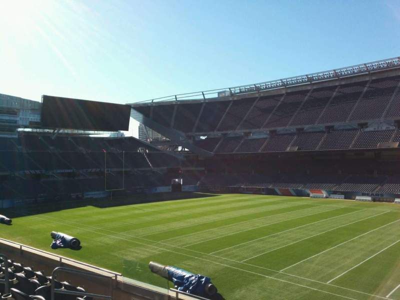 Seating view for Soldier Field Section 206 Row 6 Seat 9
