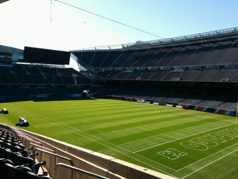 Seating view for Soldier Field Section 202 Row 13 Seat 5