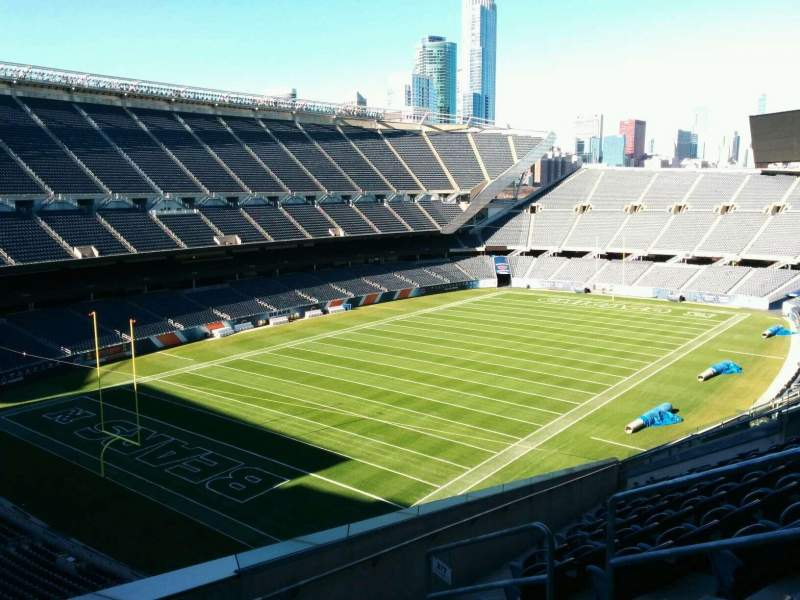 Seating view for Soldier Field Section 317 Row 15 Seat 19