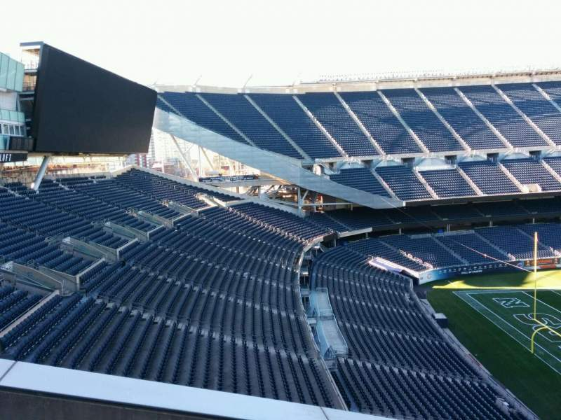 Seating view for Soldier Field Section 317 Row 14 Seat 19