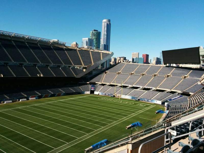 Seating view for Soldier Field Section 315 Row 11 Seat 10