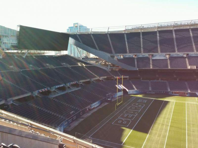 Seating view for Soldier Field Section 312 Row 9 Seat 11