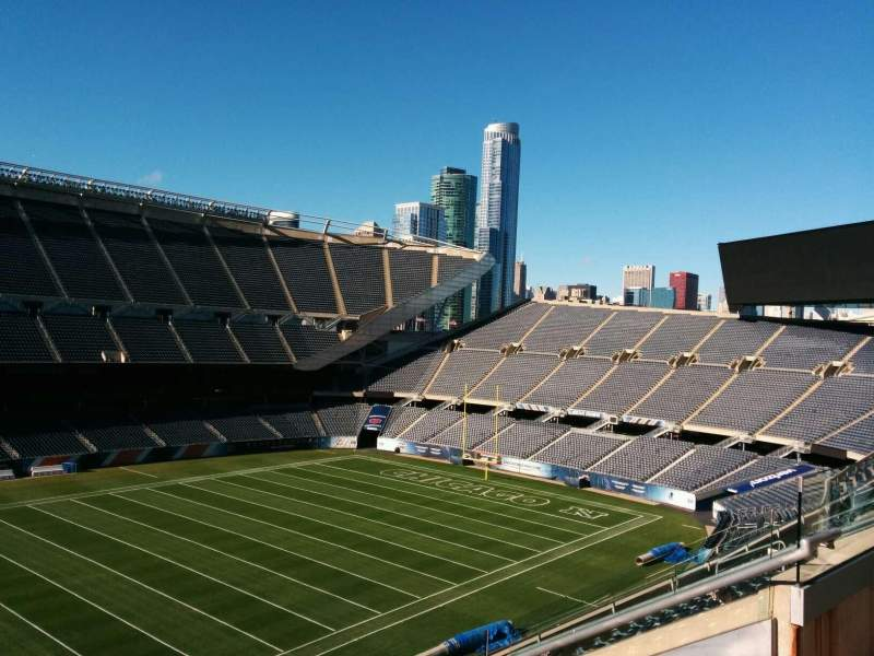 Seating view for Soldier Field Section 312 Row 9 Seat 10