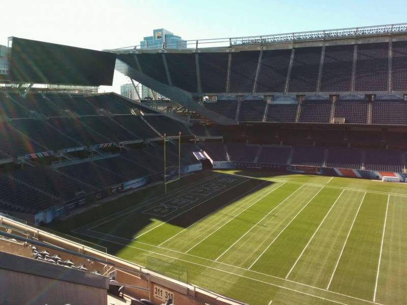 Seating view for Soldier Field Section 310 Row 8 Seat 8