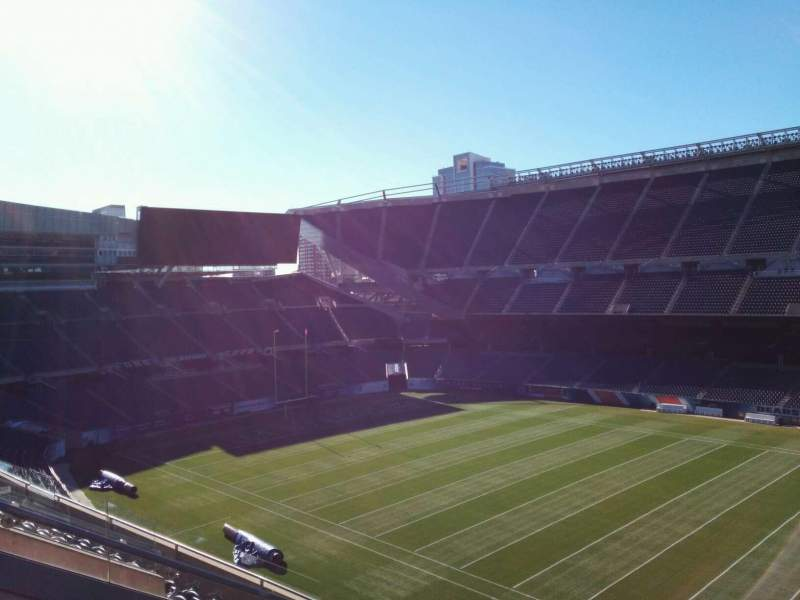 Seating view for Soldier Field Section 306 Row 8 Seat 8
