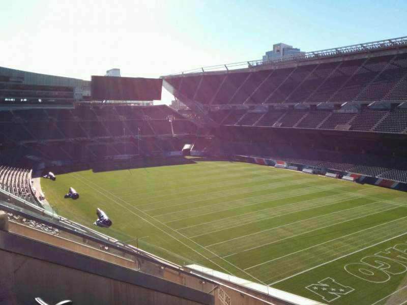 Seating view for Soldier Field Section 302 Row 9 Seat 8