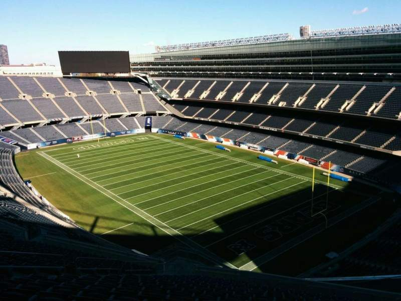 Seating view for Soldier Field Section 429 Row 19 Seat 12