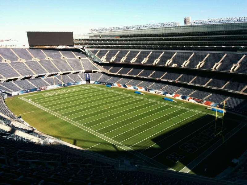 Seating view for Soldier Field Section 430 Row 19 Seat 12