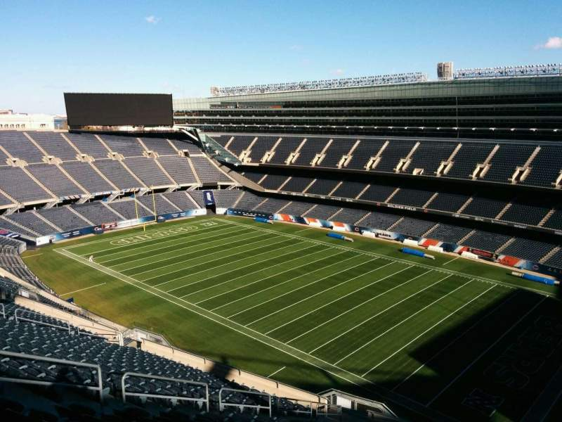 Seating view for Soldier Field Section 431 Row 19 Seat 12