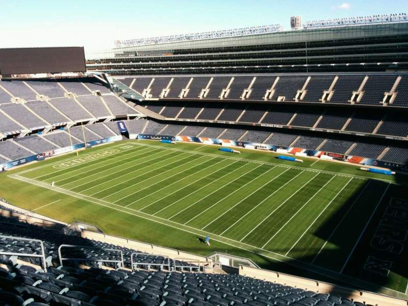 Seating view for Soldier Field Section 432 Row 19 Seat 12