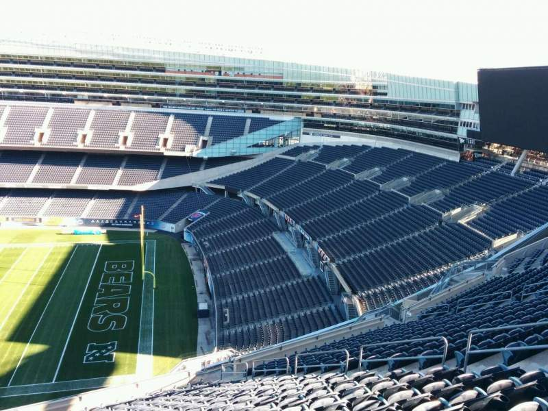 Soldier Field, section: 432, row: 19, seat: 12