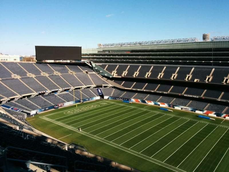 Soldier Field, section: 433, row: 19, seat: 10