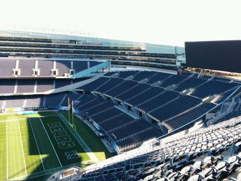 Seating view for Soldier Field Section 434 Row 19 Seat 10