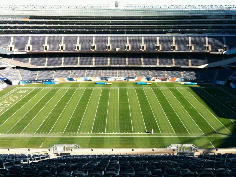 Seating view for Soldier Field Section 437 Row 19 Seat 10